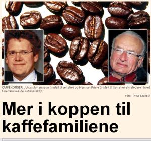 Kaffe familiene