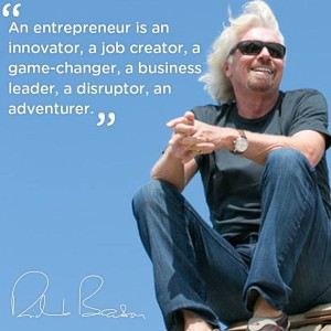 branson on entrepenour